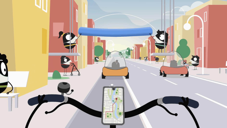 Resvis som verktøy i Europeiska  Mobilitetsveckan i Östersund